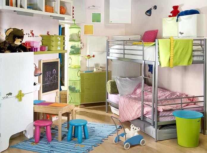 Łóżko piętrowe - idealne dla większej rodziny